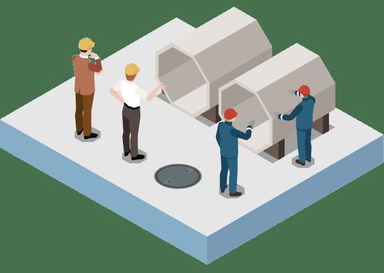 JERコンクリート補改修協会加盟企業との連携による現場条件を重視した製品・工法